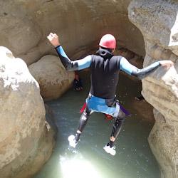 Canyoning journée près des Gorges du Verdon et de Nice dans la clue du Riolan