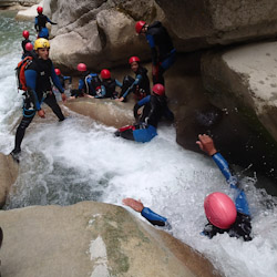 Canyoning dans les gorges de la Roudoule près de Puget-Théniers et Cagnes-sur-Mer