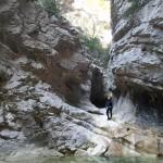 Beau décors dans le canyoning du Val d'Angouire - Verdon