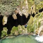 Tuf gigantesque et magnifique au canyoning du Val d'Angouire - Verdon
