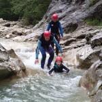 Entrée Canyoning Verdon Castellane Haut Jabron