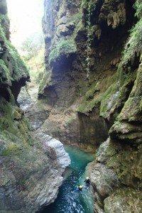 Canyoning vers Nice et paysage hors du temps dans la Barbaira
