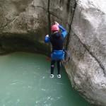 Saut Canyoning Verdon Castellane Haut Jabron