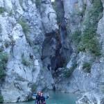 Fin Canyoning Verdon Castellane Haut Jabron