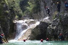 Canyoning demi-journée dans la clue de Saint-Auban près des Gorges du Verdon et de Grasse