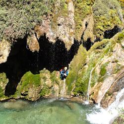 Canyoning dans le Val d'Angouire près de Marseille et Aix-en-Provence