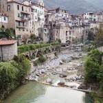 Village de Rochetta Nervina avant le canyoning dans le Rio Barbaira près de Nice et Monaco