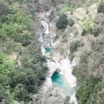 Rivière en canyoning dans le Rio Barbaira près de Nice et Monaco