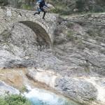 Saut en canyoning dans le Rio Barbaira près de Nice et Monaco