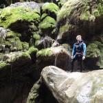 Tufs en canyoning dans le Rio Barbaira près de Nice et Monaco