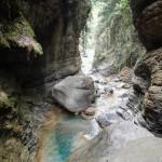 Gorges en canyoning dans le Rio Barbaira près de Nice et Monaco