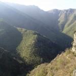 Paysage du vallon de la Carleva avant de le descendre en canyoning extrême avec Planet Canyon