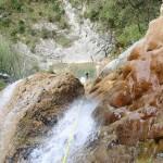 Grand rappel en canyoning dans le vallon de Peïra près de Cannes et Nice
