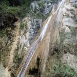 Grande cascade en canyoning dans le vallon de Peïra près de Cannes et Nice