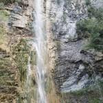 Grande cascade finale en canyoning dans le vallon de Peïra près de Cannes et Nice