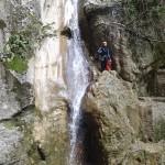 Cascade en canyoning près de Nice et Antibes dans la vallée de la Vésubie et le Vallon de l'Imberguet