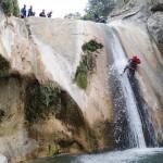 Rappel en canyoning dans le Gros Riou près de Nice et les Gorges du Verdon