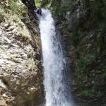 Rappel éjectable canyoning dans la Vésubie vers Nice et Antibes dans le Riou de la Bollène