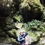 Tuf en canyoning dans la Vésubie vers Nice et Antibes dans le Riou de la Bollène
