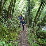 Marche retour en canyoning dans la Vésubie vers Nice et Antibes dans le Riou de la Bollène