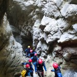 Gorges en canyoning dans le Gros Riou près de Nice et les Gorges du Verdon