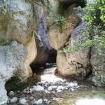 Pont en canyoning dans le Gros Riou près de Nice et les Gorges du Verdon