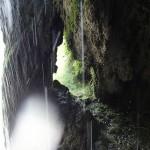 Grotte de tuf en canyoning dans le Gros Riou près de Nice et les Gorges du Verdon