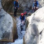 Toboggan en canyoning dans le Gros Riou près de Nice et les Gorges du Verdon