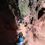 Etroiture de la Clue d'Amen en canyoning extrême vers Nice