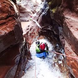 Canyoning extrême vers les gorges du Verdon et Nice dans le Riu de Pierlas