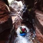 Canyoning extrême et toboggan dans la Clue d'Amen vers Nice