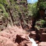 Paysage de la Clue d'Amen en canyoning extrême vers Nice