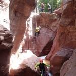 Canyoning extrême et descente en rappel dans la Clue d'Amen vers Nice