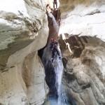 Toboggan de la mort en canyoning dans la clue du Riolan près de Nice et des Gorges du Verdon