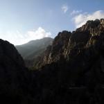 Paysage des gorges du Tavignanu près de Corte en Corse