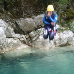 Saut en canyoning vers Nice dans le Gours du Ray
