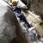 Toboggan en canyoning vers Nice dans le Gours du Ray