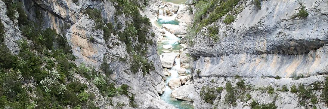 Canyoning Aiglun près de Grasse et Castellane