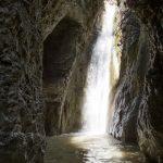 Cascade de 25m dans le canyon de Pierrefeu près de Cagnes et Nice