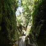 Canyoning dans le canyon de Pierrefeu près de Cagnes et Nice