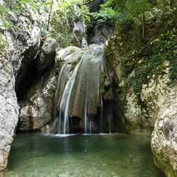 Canyoning initiation vers Cannes et Nice dans le ruisseau de Planfaé