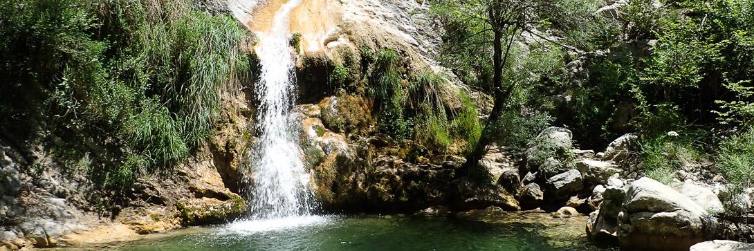 Canyoning près de Nice et Monaco dans le canyon de Planfaé