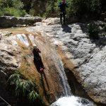 Toboggan en canyoning dans Audin près de Monaco et Menton dans la vallée de la Roya