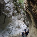 Paysage dans Planfaé en canyoning près de Monaco et Nice