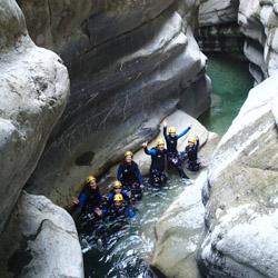 Canyoning de Cramassouri proche de Nice