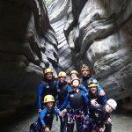 Une équipe de choc en canyoning dans Cramassouri